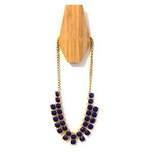 Francesca's purple gem necklace